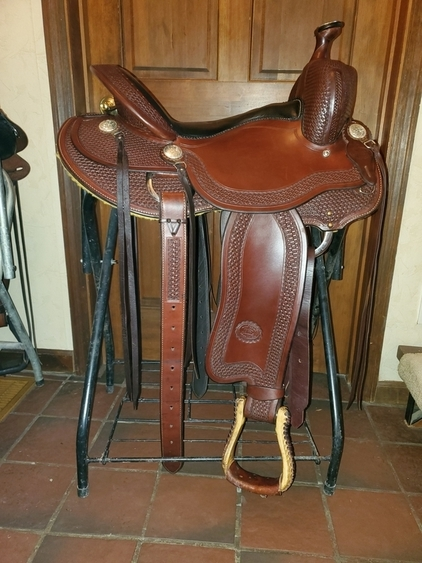 Billy Cook Authentic Trail Saddle 16""