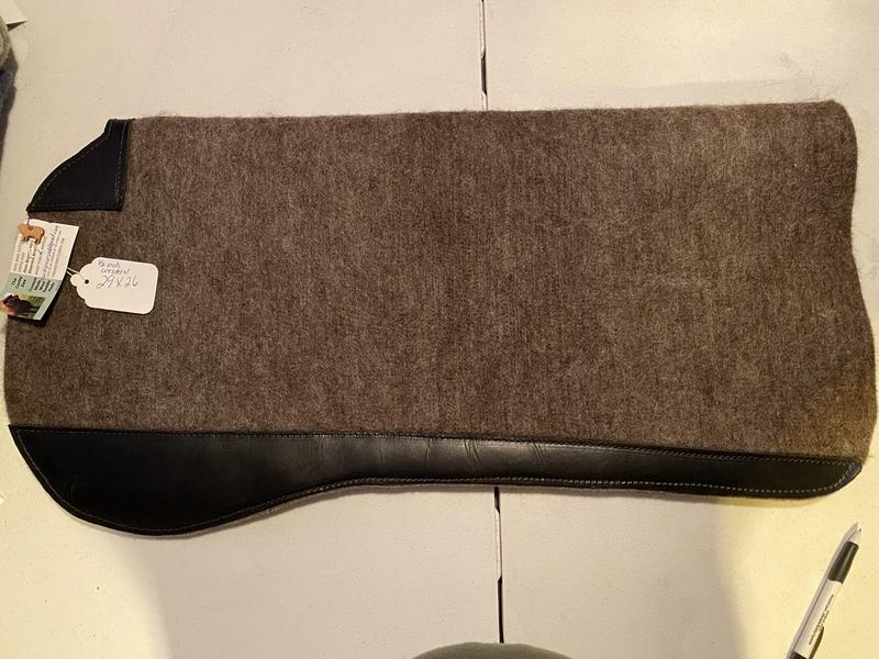 Custom Wool Saddle Pads