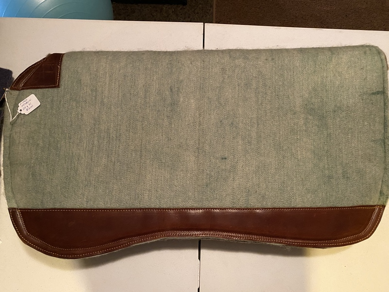 Custom Wool Saddle Pads